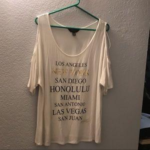 Thalia Sodi shirt XL